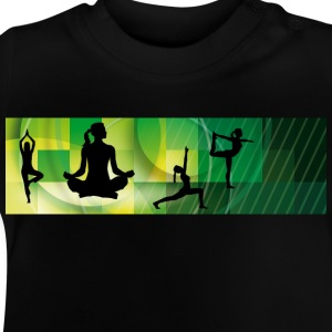 yoga_positions01 T-Shirts - Baby T-Shirt