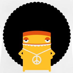 A hippie with an afro Hoodies - Baby T-Shirt