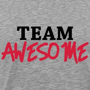 Team Awesome Tröjor - Premium-T-shirt herr