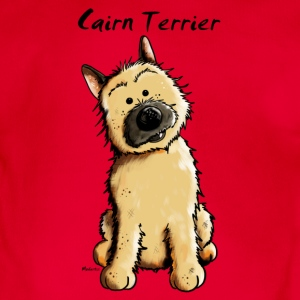 Cute Cairn Terrier Shirts - Organic Short-sleeved Baby Bodysuit