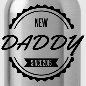 new_daddy_since_2015 Tee shirts - Gourde