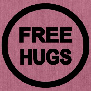 Free Hugs Gals - Schultertasche aus Recycling-Material