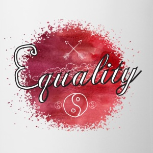 Equality - Watercolor Sweatshirts - Kop/krus