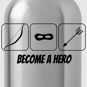 become a hero 2 T-shirts - Drinkfles
