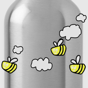 Bee in the Clouds T-shirts - Drinkfles
