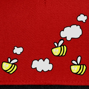 Bee in the Clouds T-shirts - Snapback cap