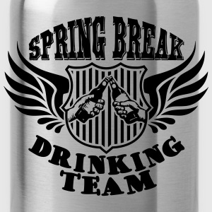 Spring Break Drinking Team Tops - Trinkflasche
