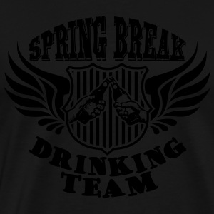 Spring Break Drinking Team Tank Tops - Männer Premium T-Shirt