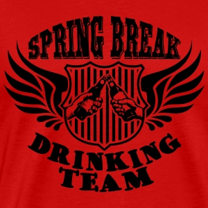 Spring Break Drinking Team Tank Tops - Herre premium T-shirt