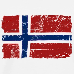 Norway Flag - Vintage Look  Sports wear - Men's Premium T-Shirt