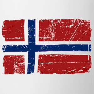 Norway Flag - Vintage Look  Intimo - Tazza