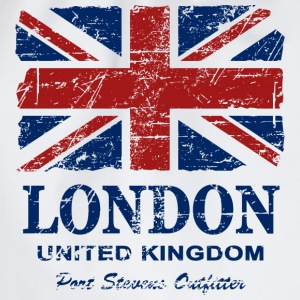 Union Jack - London - Vintage Look  T-Shirts - Turnbeutel