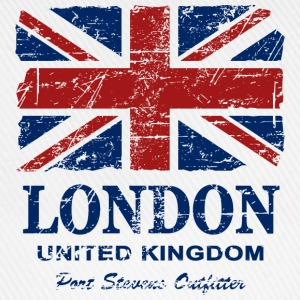 Union Jack - London - Vintage Look  Magliette - Cappello con visiera