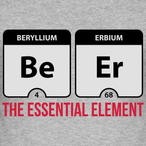 Beer Essential Element  Sweatshirts - Herre Slim Fit T-Shirt