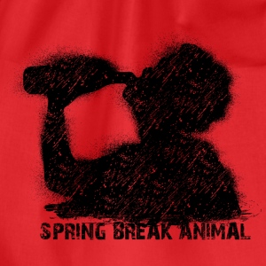 spring break animal Tank Tops - Turnbeutel