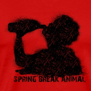 spring break animal Tank Tops - Men's Premium T-Shirt