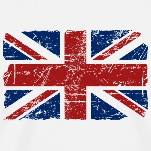 Union Jack - UK - Vintage Look  Tabliers - T-shirt Premium Homme