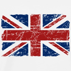 Union Jack - UK - Vintage Look  Pullover & Hoodies - Männer Premium T-Shirt