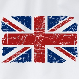 Union Jack - UK - Vintage Look  Camisetas - Mochila saco