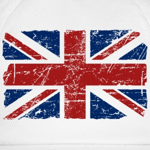 Union Jack - UK - Vintage Look  Camisetas - Gorra béisbol