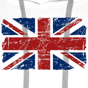 Union Jack - UK - Vintage Look  T-skjorter - Premium hettegenser for menn