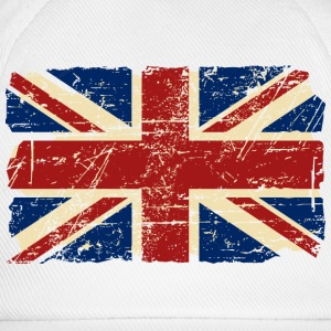 Union Jack - UK - Vintage Look  Hoodies & Sweatshirts - Baseball Cap