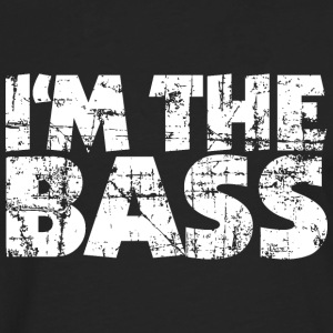 I'm the Bass Vintage White (EU) T-Shirts - Men's Premium Longsleeve Shirt