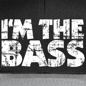 I'm the Bass Vintage White (EU) T-Shirts - Snapback Cap