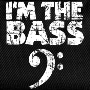 I'm the Bass Vintage White T-Shirts - Kids' Backpack
