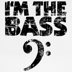 I'm the Bass Vintage Black (Clef) T-Shirts - Baseball Cap
