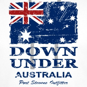 Down Under - Vintage Look  Tank Tops - Herre Premium hættetrøje