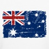 Australien - Down Under - Vintage Look  T-Shirts - Frauen Bio-T-Shirt