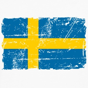 Sweden  - Vintage Look T-Shirts - Men's Premium Longsleeve Shirt