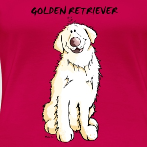 Gordi Golden Retriever Long Sleeve Shirts - Women's Premium T-Shirt