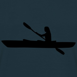 Kayak, kayaker - woman Caps & Hats - Men's T-Shirt