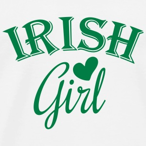 irish girl Topper - Premium T-skjorte for menn