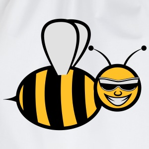 Bee funny sweet fly Sunglasses T-Shirts - Drawstring Bag