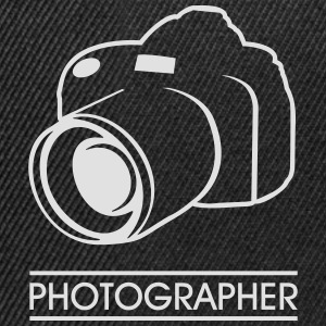 photographer Tops - Snapback Cap