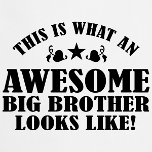 Awesome Big Brother Looks Like Shirts - Cooking Apron