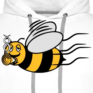 Bee fly joint kiffen T-Shirts - Men's Premium Hoodie