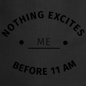 Nothing excites me before 11 am Gensere - Kokkeforkle