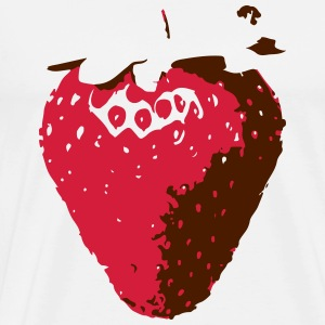 strawberry - Männer Premium T-Shirt