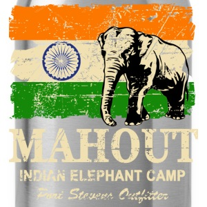 Mahout - India - Vintage Look T-Shirts - Water Bottle