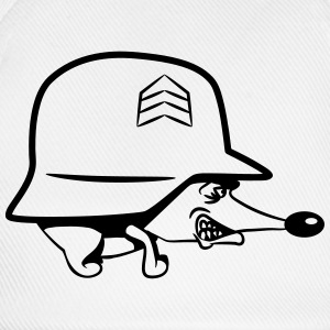 Hedgehog military helmet soldier T-Shirts - Baseball Cap