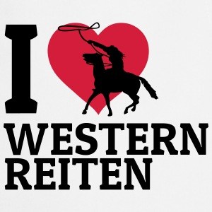 I love Westernreiten Long Sleeve Shirts - Cooking Apron
