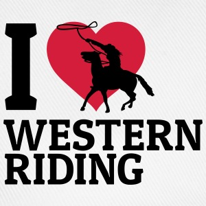 I love Westernriding j'aime westernriding Manches longues - Casquette classique