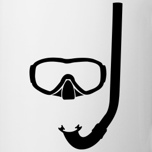 Mask and snorkel T-Shirts - Mug