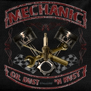 Mechanic design vintage Mechaniker Hot Rod T-Shirts - Kinder Rucksack