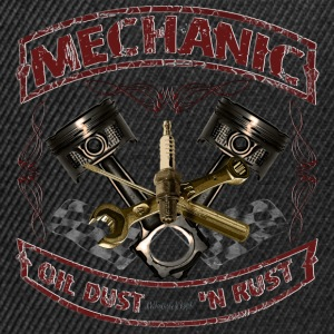Mechanic design vintage Mechaniker Hot Rod T-Shirts - Snapback Cap