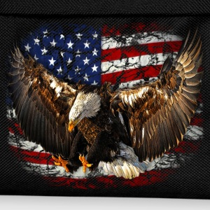 eagle USA Flag Adler freedom T-Shirts - Kinder Rucksack